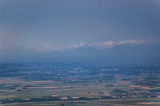 Vue sur Strasbourg depuis le Mont Saint Odile