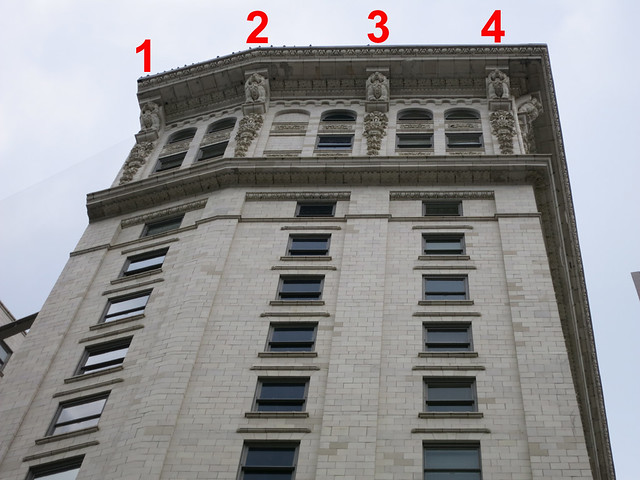 IMG_3547-2013-08-14-Candler-Building-Lions-South-cornice-Numbered-1-to-4