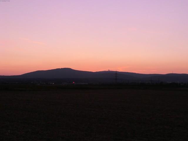 Sonnenuntergang Taunus