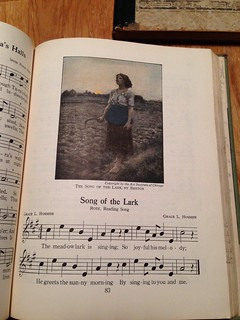 "Song of the Lark - from ""The Music Hour"" by Silver Burdett Company, 1932"