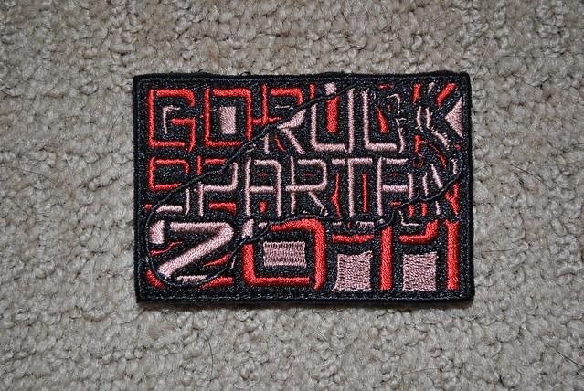 GORUCK Spartan Super 2011 Patch