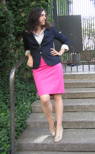 navy_blazer_polka_dot_shirt_pink_skirt 006 edit