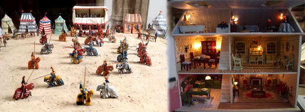 Museo del soldadito de plomo y Museo Casas de Muñecas