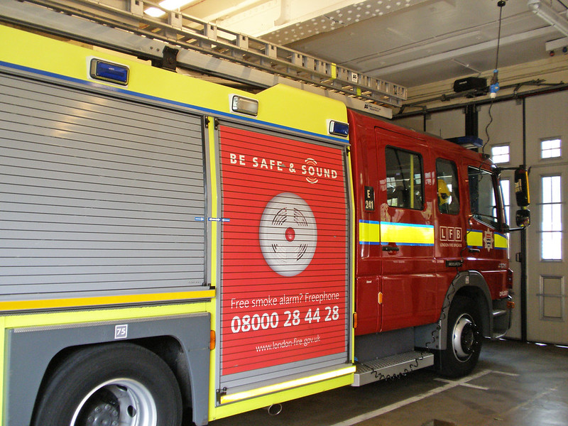 Woolwich Fire Station - Be Safe and Sound - LFB