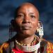 IMG_8310 Maasai woman at dusk Loita Hills Kenya