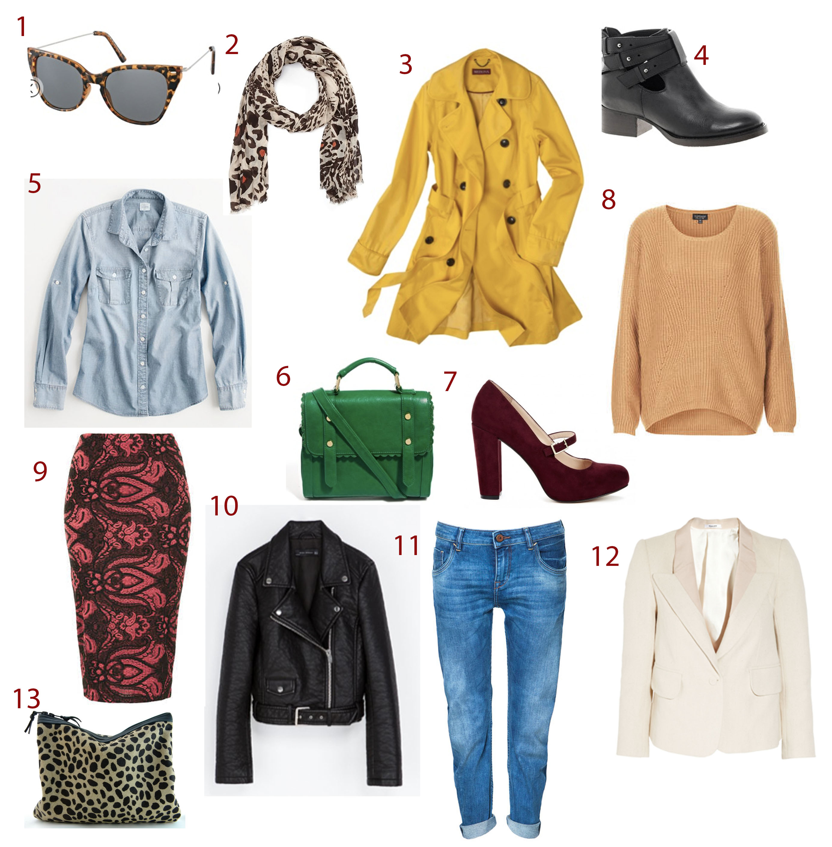 fall style pieces