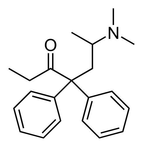 methadone chemical structure