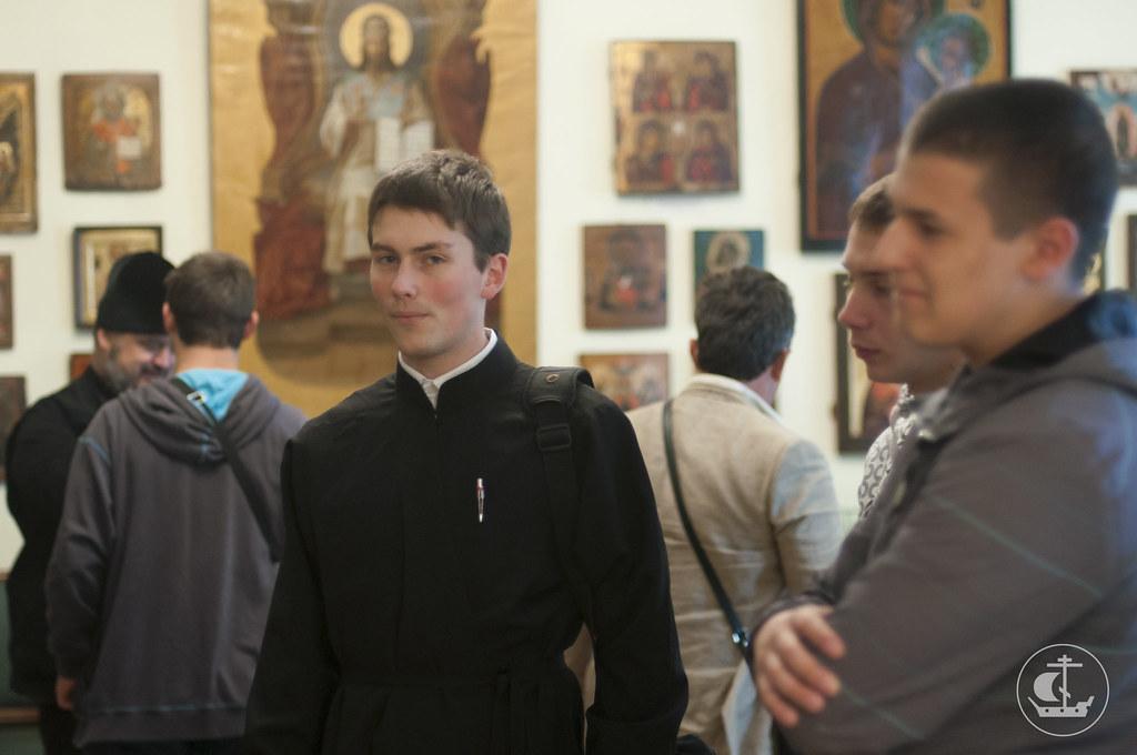 16 сентября 2013, Визит студентов Цетинской семинарии (Черногория) в СПбПДА