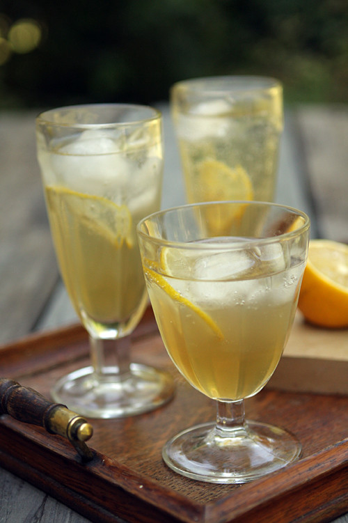 fresh ginger soda