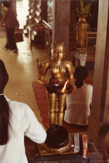 1972 - Inside Mariamman Hindu Temple in Saigon