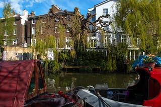 Au bord du Regent's Canal