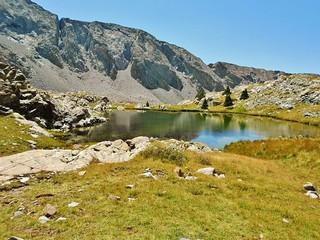 Camping Spot at Blue Lakes