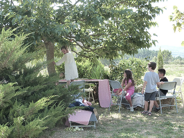 jeux dans les arbres