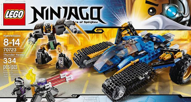 LEGO Ninjago 2014 - 70723 Thunder Raider