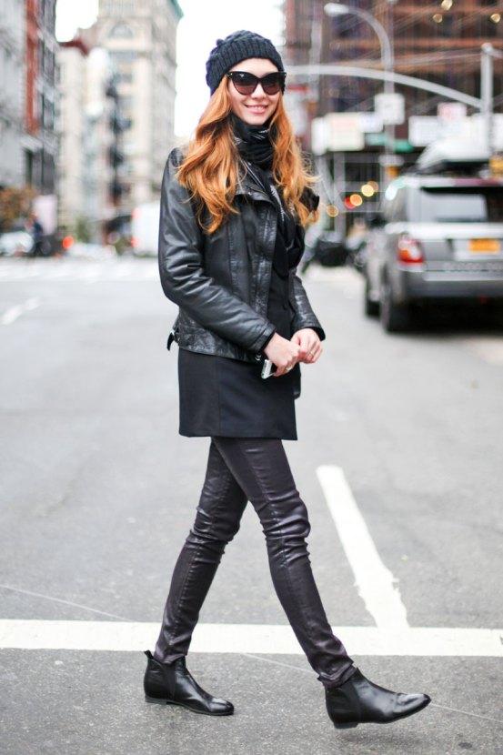 Head To Toe Leather Dress Me Blog Me
