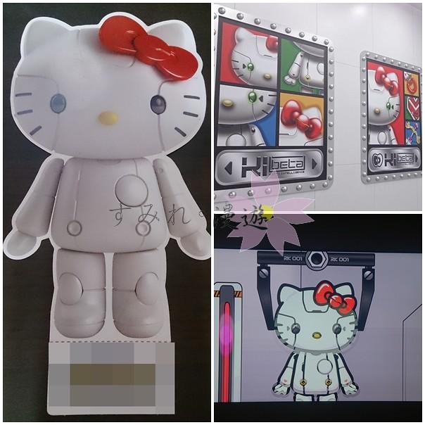 國內旅遊-Robort Hello kitty未來樂園展覽-1