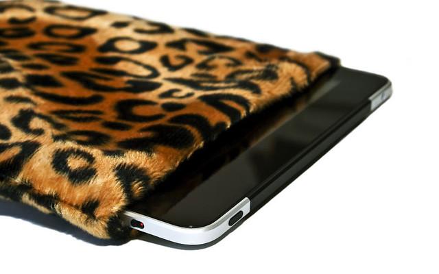 Laptop Sleeve Posh Leopard Skin 11 inch