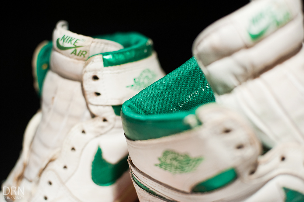 1985 Metallic Green & White I's.
