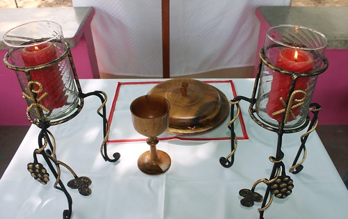 New candelabras for Reformation Sunday