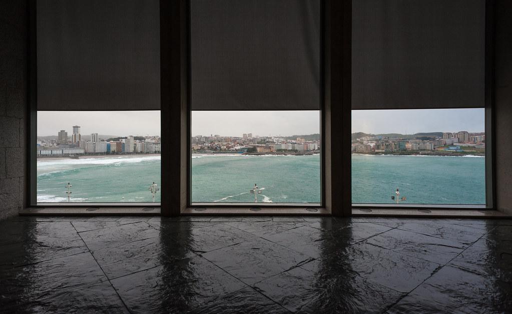 Tres vistas en una:Coruña