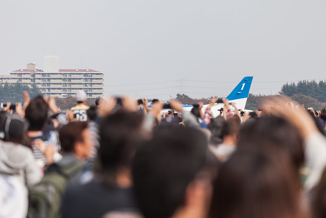 【20131103_入間航空祭】11_Cell Phone Photographers