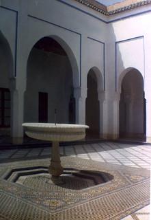 Maroc, juillet 1964 - Palais de la Bahia, Marrakech
