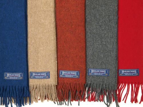 Highland Tweeds / Solid Scarf
