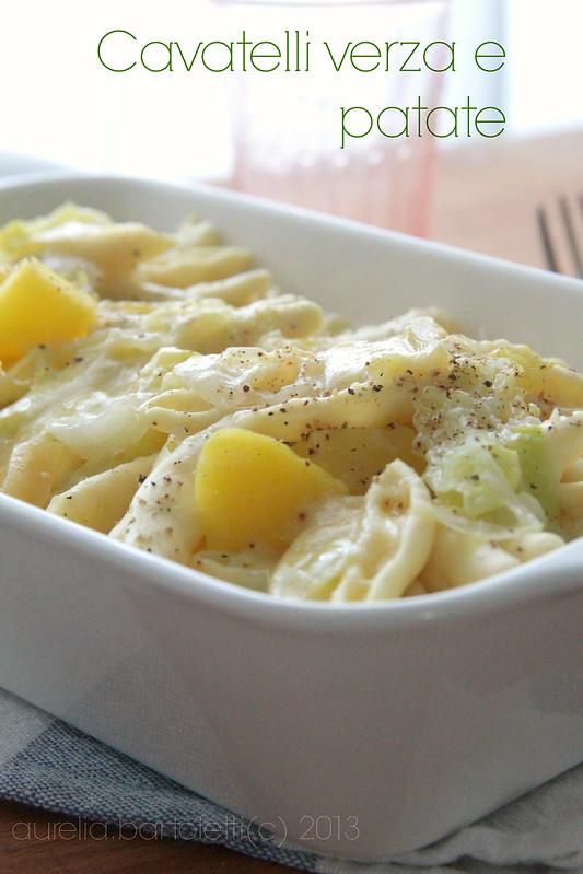 cavatelli verza e patate