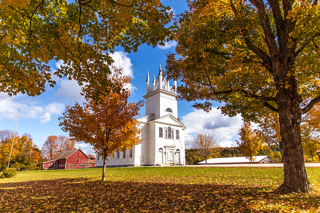 Picture postcard perfect Sudbury in Vermont