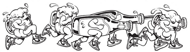 Nike__running_beer__illust