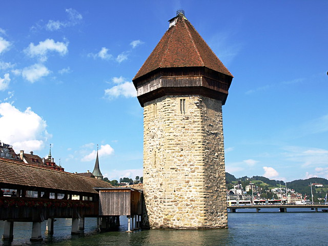 Water Tower, Lucern, Switzerland