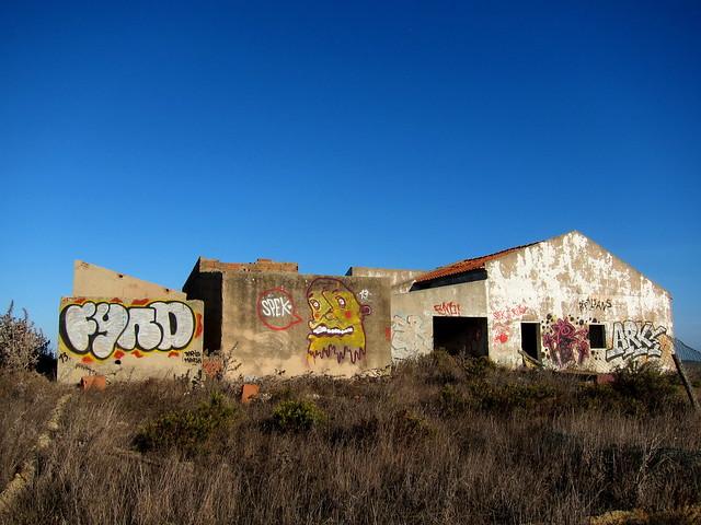 street art | fynd . spek . reptilians . arky | vila do bispo . algarve . portugal 2013