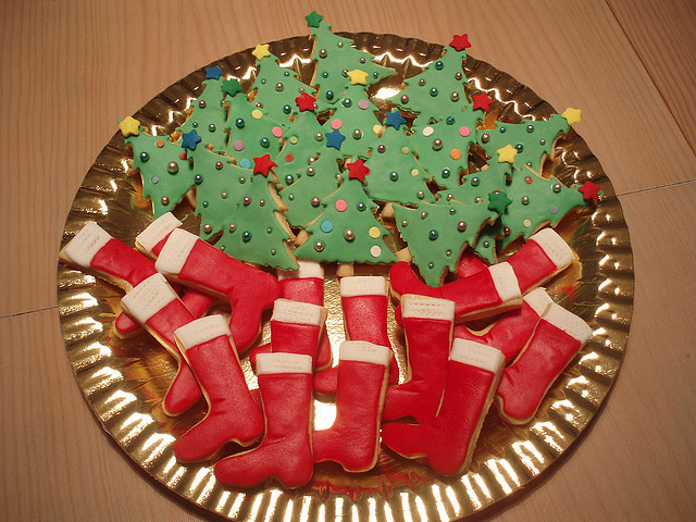 BOLACHAS DE NATAL:CHRISTMAS COOKIES by fati dream cakes, on Flickr