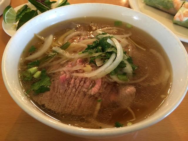 Hanoi style beef noodle soup - Basil Leaf Asian Cuisine