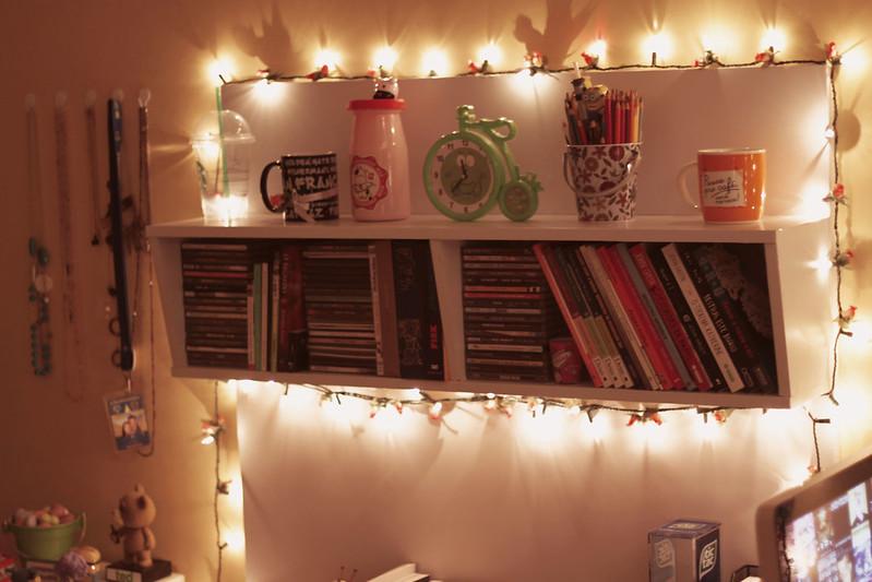 Iluminacao Com Pisca Pisca No Quarto ~ Decora??o do meu quarto com luzes pisca pisca (Natal)  Comprando
