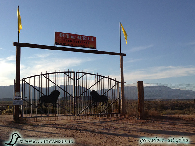PIC: Out of Africa Wildlife Park - Gate
