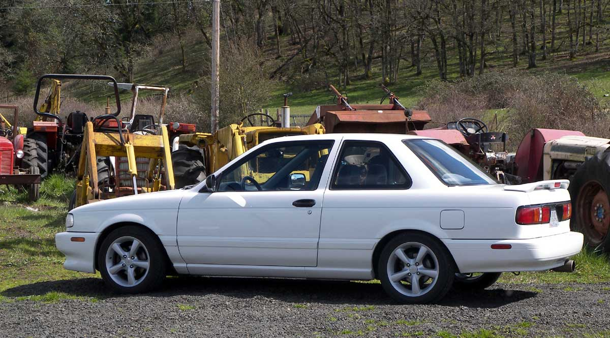 very clean 1994 sentra se-r for . - allsentra - the nissan