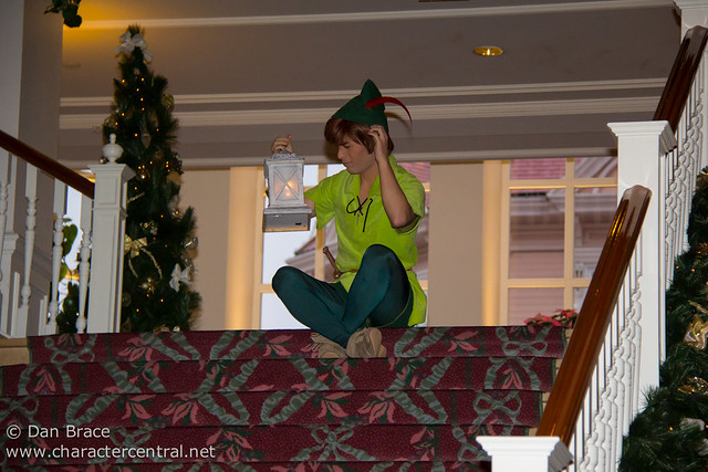 Peter Pan and the Christmas Celebration