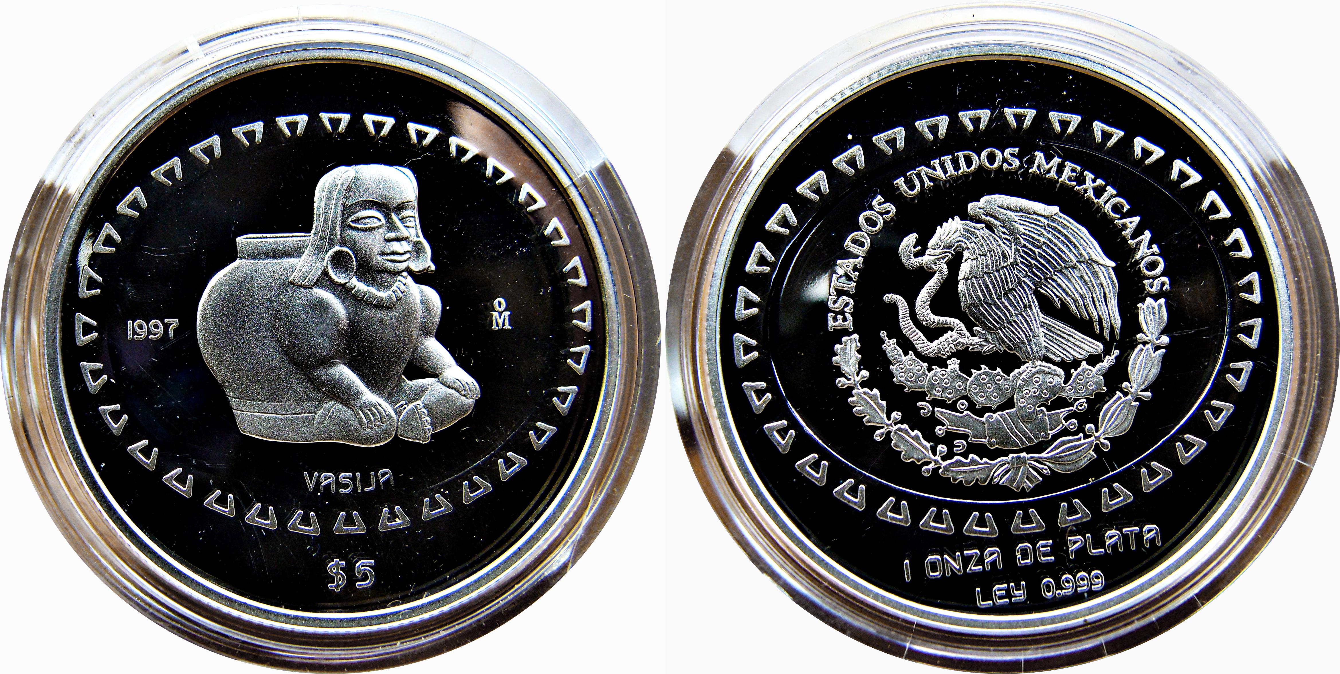 Colección Precolombina de onzas de plata del Banco de Mexico 12123866413_1a36640c03_o