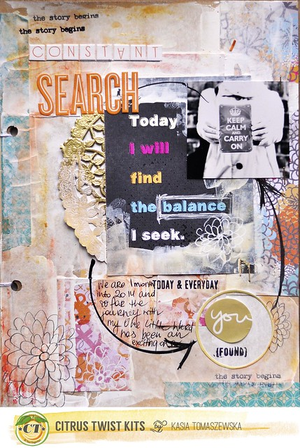 SEARCHING art journal Kasia