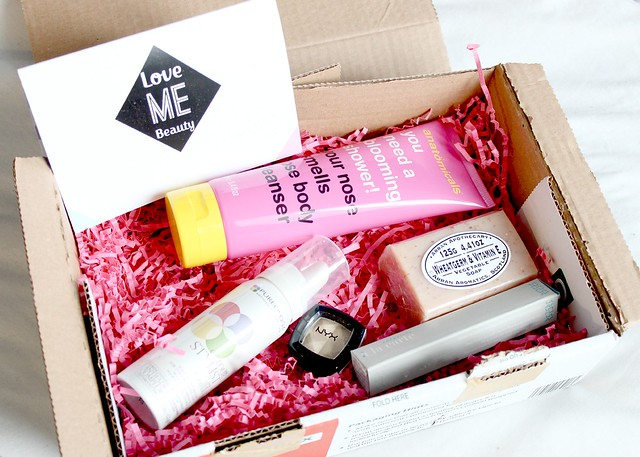 January Love Me Beauty Box Review