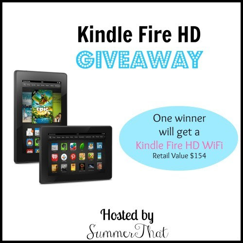 Kindle Fire HD Giveaway #giveaway