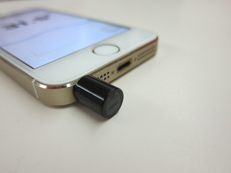 Thermodo - Plugged Into iPhone 5s