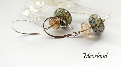 Moorland Earrings by gemwaithnia