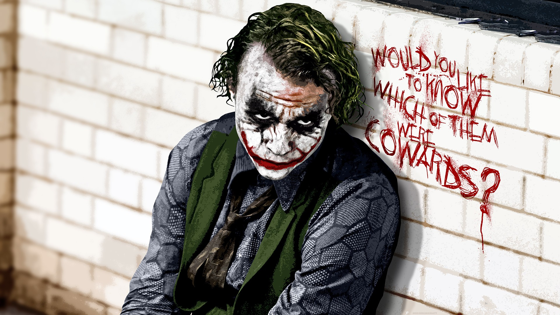 Joker - Batman Dark Knight - Top 10 HD Batman Movie Desktop Wallpapers