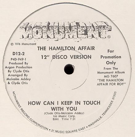 hamilton affair 12 promo