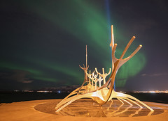 'Sólfar, The Sun Voyager' - Reykjavik, Iceland
