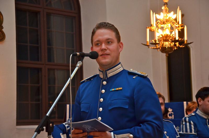 Programpresentatör - Samuel Wrackefelt
