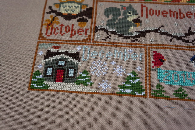 December Woodlands Sampler