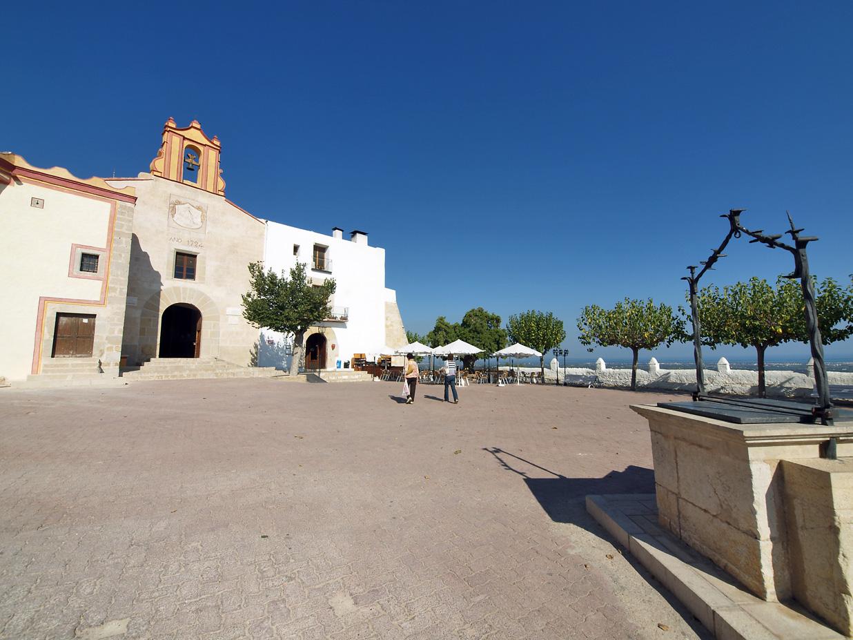 Ermita de Sant Sebastià. Autor, Patronato Provincial de Turismo. Diputación de Castellón.